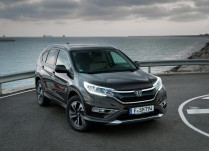 2016 Honda CR V LX Black Color